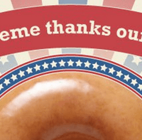 Krispy Kreme | Free Doughnut And Small Coffee