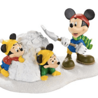 Department 56 Disney Snow Fort Fun For $16.99 Shipped