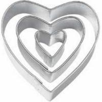 Heart Cookie Cutter Set For $1.59 Shipped