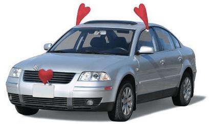 Valentines Day Vehicle Costume