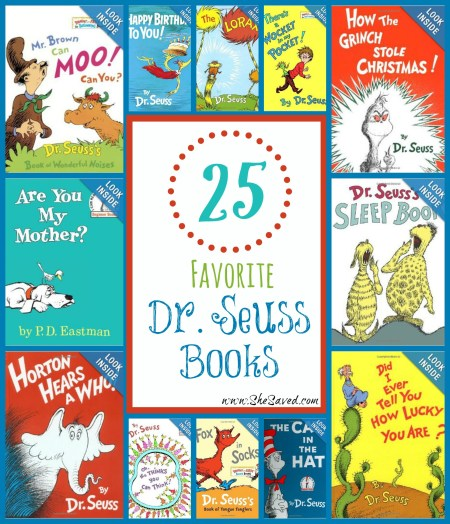 25 Favorite Dr. Seuss Books