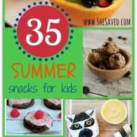 35 Summer Snacks for Kids