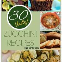 30 Tasty Zucchini Recipes