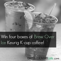 Brew Over Ice Keurig K-cup Coffee Giveaway