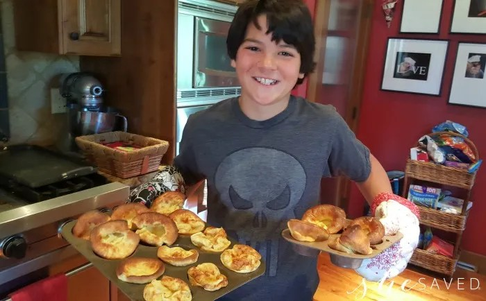 These Popovers are one of my favorite recipes for kids to make!