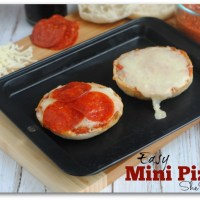 Easy Mini Pizza Recipe