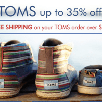 TOMS Sale at Zulily