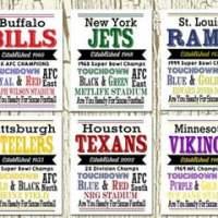 NFL Team Prints For $7.99