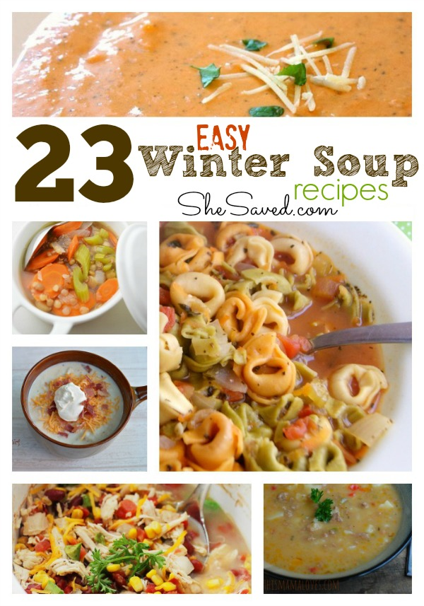 23 Easy Winter Soup Recipes 2