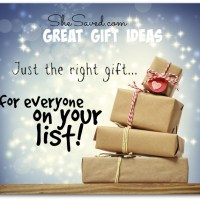 Great Gift Ideas Round Up: Ideas for Everyone On Your List