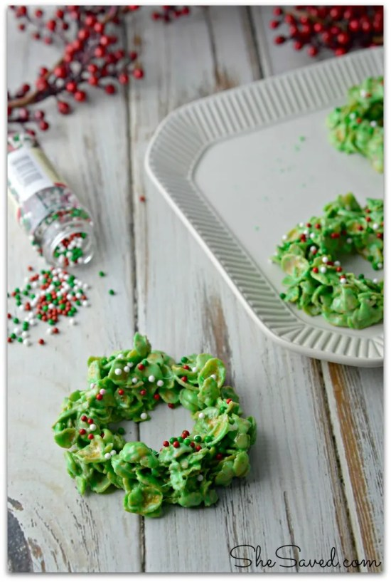 Wreath Cookie Recipe