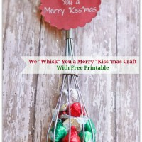 GREAT Gift Idea: We Whisk You a Merry Kiss-mas Craft