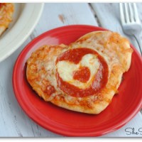 Valentine's Day Heart Shaped Pizza Recipe