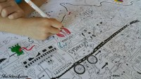 This fun Really Big Coloring Poster is so fun for the entire family!