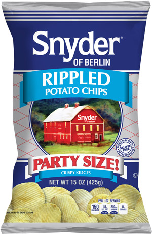 HGG 15 Snyder of Berlin Rippled Chips