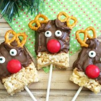 Rice Krispie Reindeer Treats