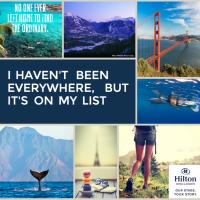 Turning Bucket List Travel Dreams into Reality #HiltonStory