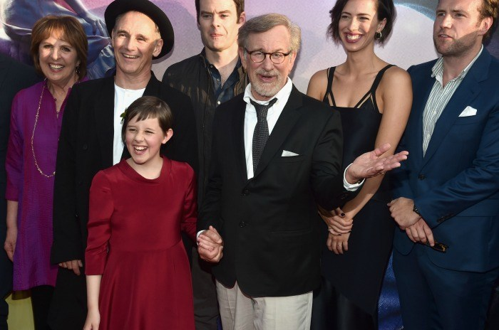 Steven Spielberg and cast from Disney's THE BFG - Photo by Alberto E. Rodriguez/Getty Images for Disney
