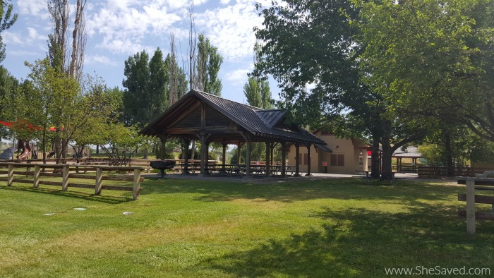The picnic area at Eagle Island State Park is wonderful for family reunions and gatherings!