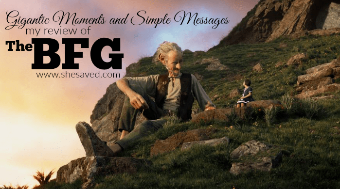 Read my BFG movie review to find out just why I think you need to see this film!