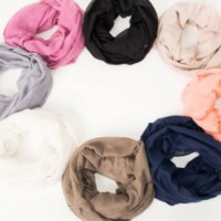 3 Solid Color Infinity Scarves for $12.98 + MORE!