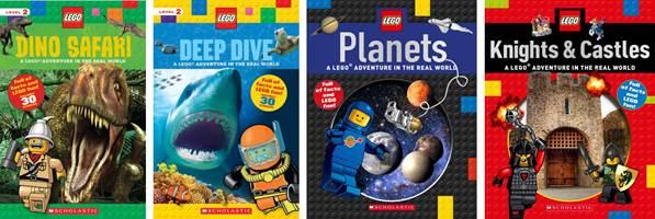 LEGO Nonfiction Books