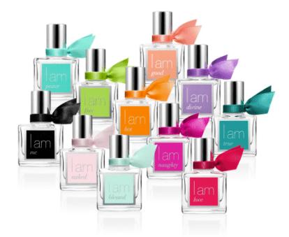 I am fragrance bottles