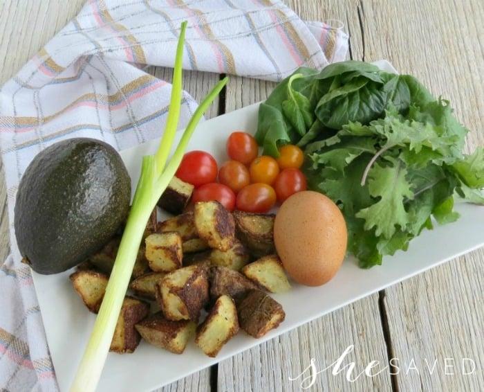 Breakfast Bowl Recipe Ingredients
