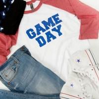 Football Moms! Football Raglan Tees for $17.95 + FREE SHIPPING