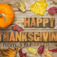 Oh!So!THANKFUL!! Happy Thanksgiving!