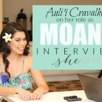 Auli'i Cravalho Interview: Being MOANA + MORE #MOANAEVENT