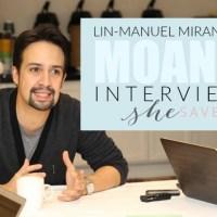 Lin-Manuel Miranda: Making the Music in Moana + MORE #MOANAEVENT