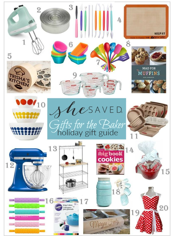 Looking for Christmas gifts for the baker on your list? I have you covered with my top 20 gift ideas for the baker!