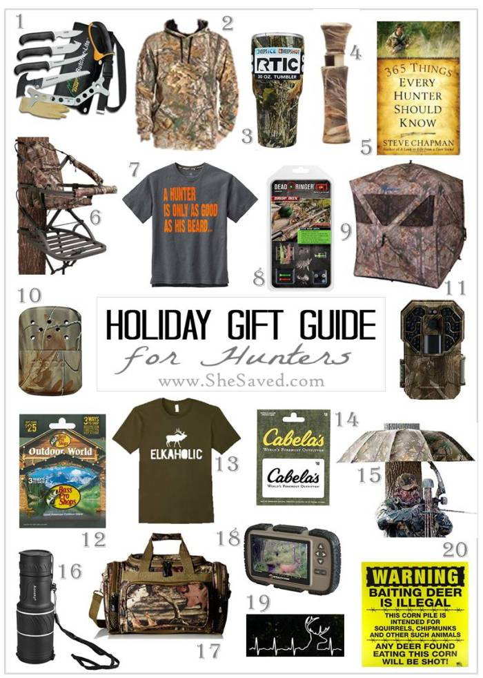 Looking for gift idea for the hunter on your list? Check up my round up of great gift ideas in my Hunter gift guide!