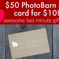 Valentines Day Gift Idea!! Grab a $50 PhotoBarn Credit for ONLY $10!!