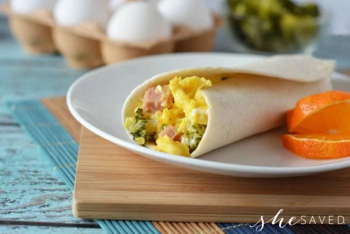 Egg Breakfast Burrito