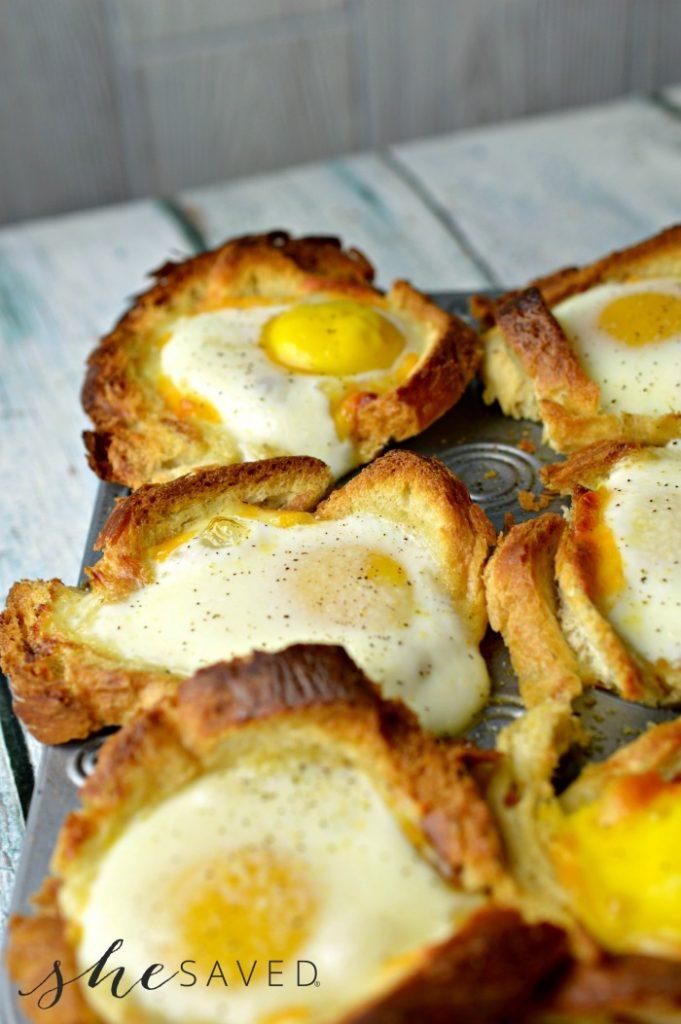 Muffin Tin Breakfast