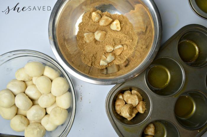 Making Monkey Bread