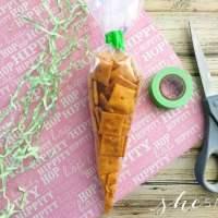 Easy Easter Snack: Carrot Shaped for Kids