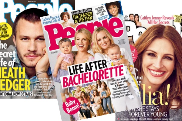 *HOT* PEOPLE Magazine Deal! 89% OFF Cover!