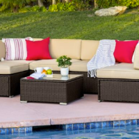 7pc Wicker Furniture Set for $579.99 Shipped!