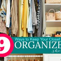 9 Ways to Achieve Closet Organization