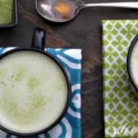 Organic Matcha Green Tea Latte Recipe