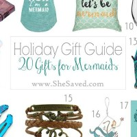 HOLIDAY GIFT GUIDE: Gifts for Mermaids