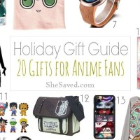 HOLIDAY GIFT GUIDE: Anime Gift Ideas