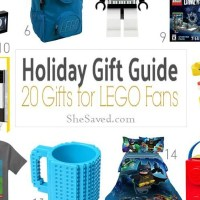 HOLIDAY GIFT GUIDE: LEGO Gift Ideas