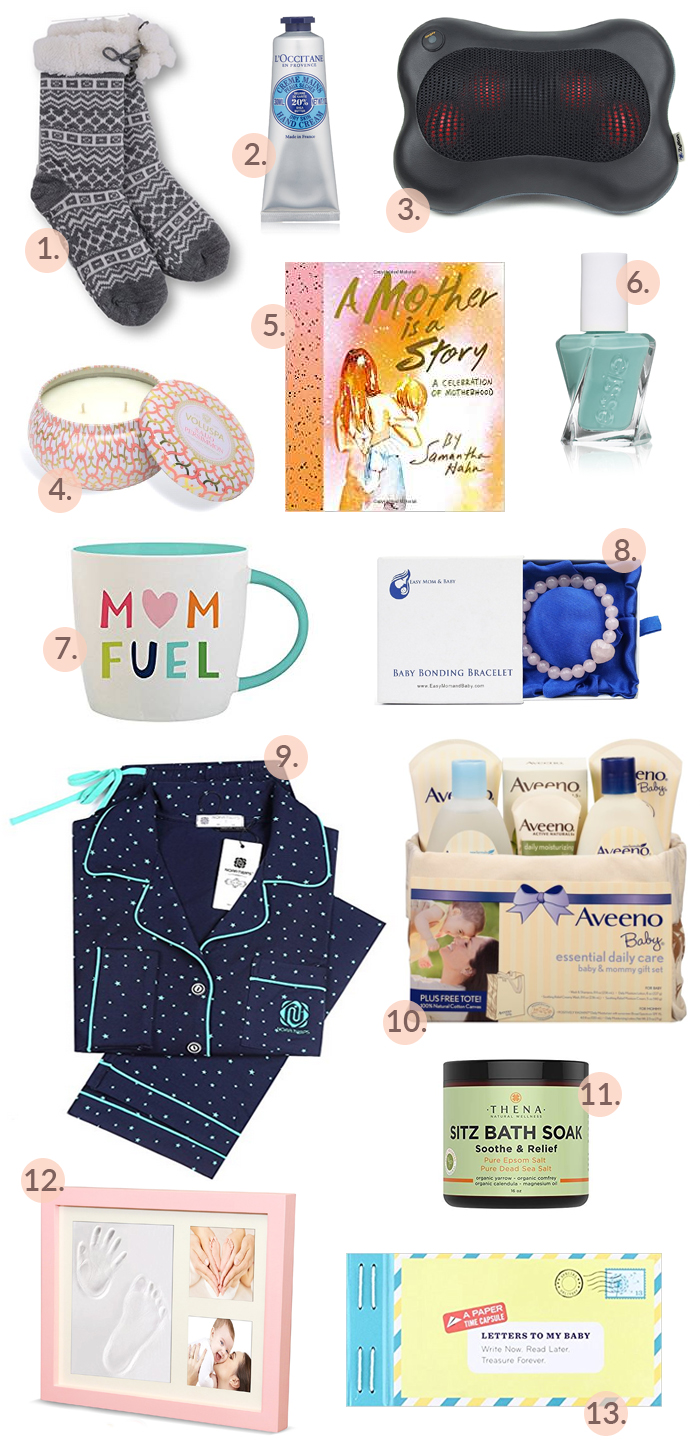 The perfect list of gifts for new moms!