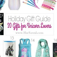 HOLIDAY GIFT GUIDE: Gifts for Unicorn Lovers