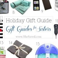 HOLIDAY GIFT GUIDE: Gift Ideas for Sisters