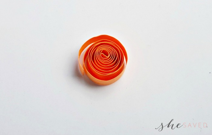 Quilled Paper Circle